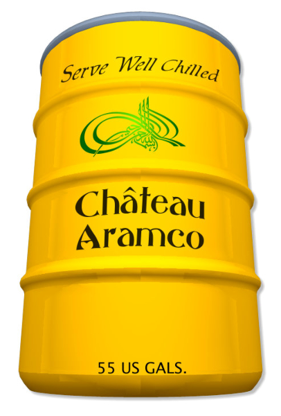 Chateau Aramco Wine Barrel