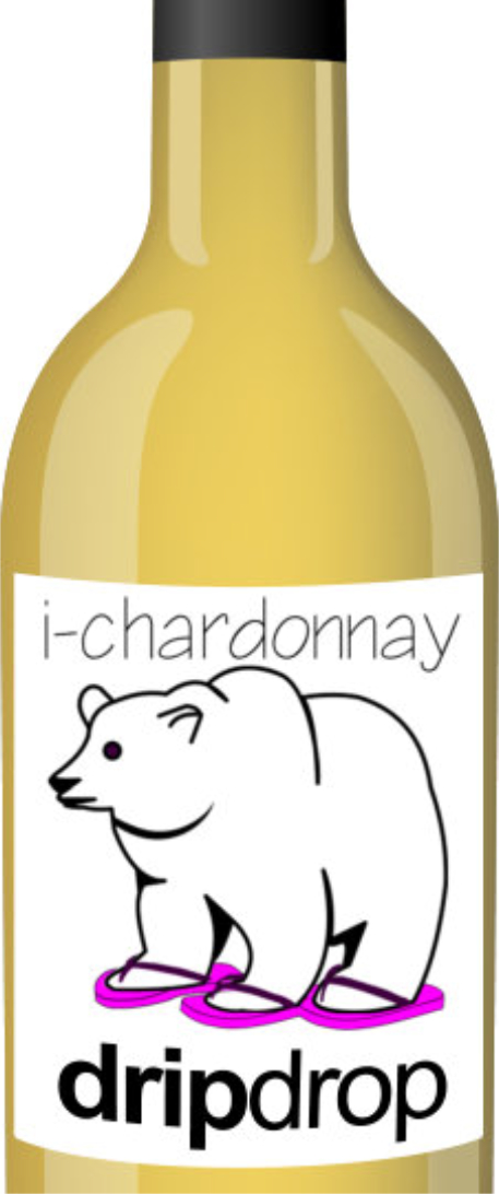 DripDrop Wines Chardonnay Bottle