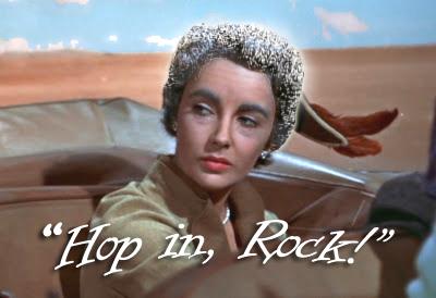 Elizabeth Taylor's Comet Hair