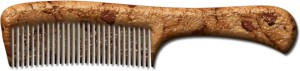 Bake a bone comb