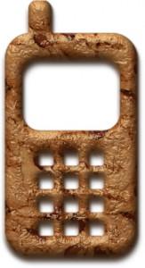 Baked telephone