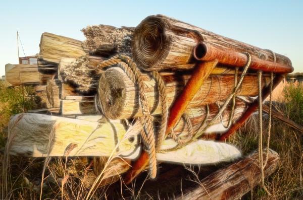 Logs, Beams, Hook